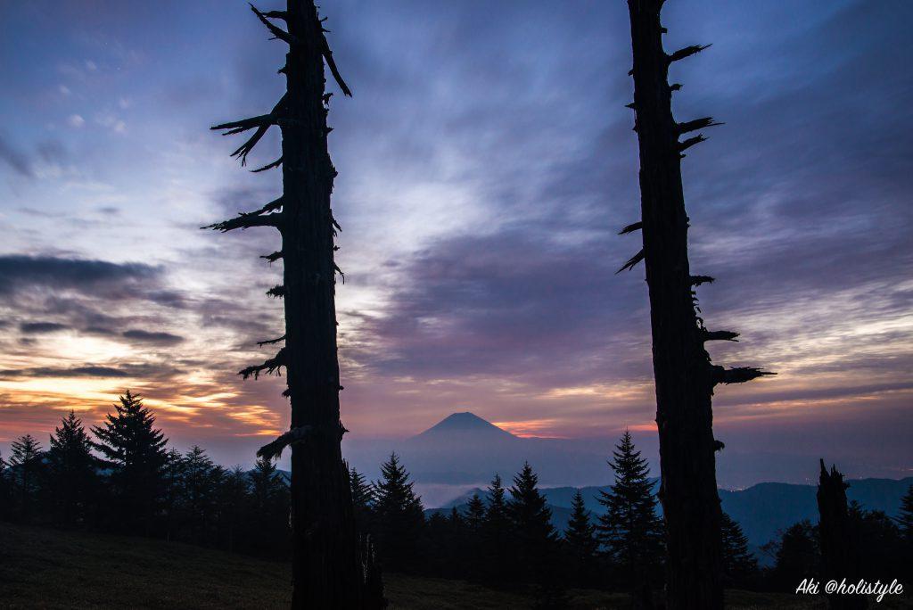 【富士山】ダイヤモンド富士を狙って山伏を登山した結果(静岡市)