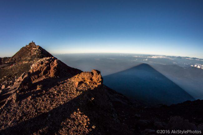 影富士と剣ヶ峰