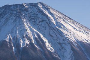 厳冬期の富士登山