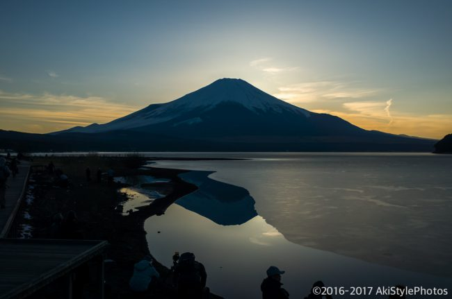 初参戦!山中湖のWダイヤモンド富士を狙った結果