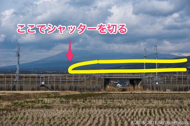 ようやく撮れた富士山とドクターイエローと初心者の撮影テクニック5選