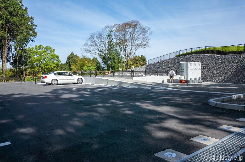 大淵笹場のカメラマン駐車場