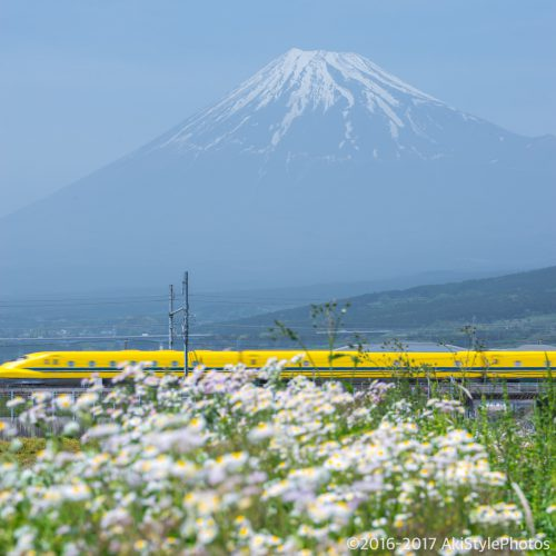富士山ドクターイエロー撮影記 Part6!一期一会の出会いも写真撮影の醍醐味