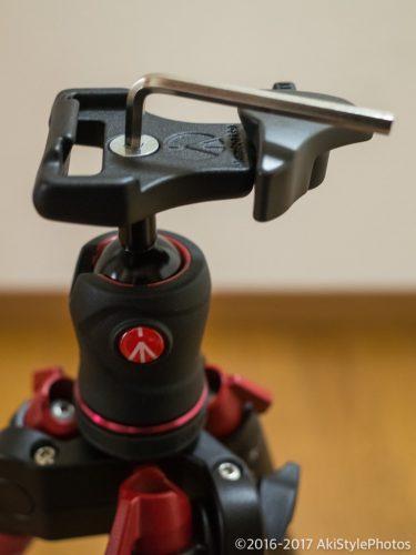縦構図の安定!登山用の三脚マンフロットBefreeをアルカスイス互換化する方法