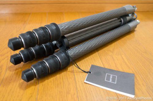 ジッツオGT2545Tの使用レビューと軽量三脚にはストーンバッグが必須な理由