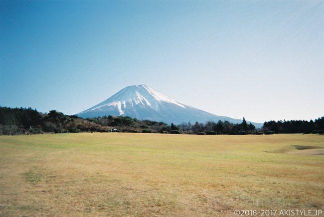 「写ルンです」で撮影した富士山