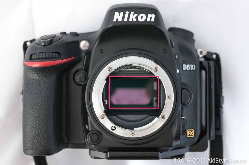 一眼レフカメラのイメージセンサークリーニング