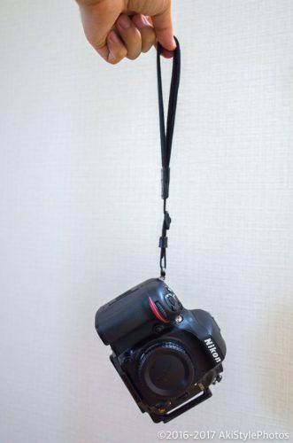 一眼レフでの手持ち撮影が少ないので、ハンドストラップに取り替えたら便利だった話