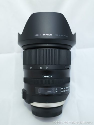 標準ズームレンズを新調!タムロン24-70 F2.8 G2(A032)を購入