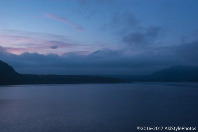 8月最後の富士山撮影は本栖湖にて!最近の合成風景に思うことなど