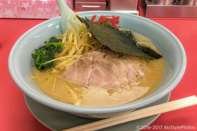 山岡家のネギチャーシュー醤油ラーメン