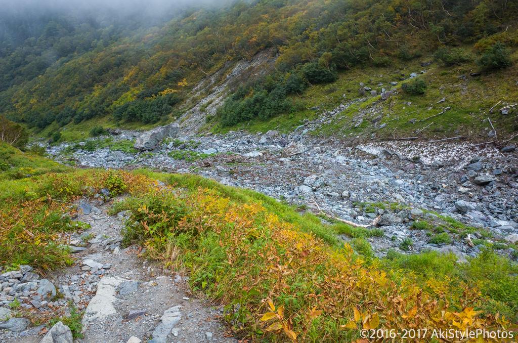 北岳の大樺沢ルート
