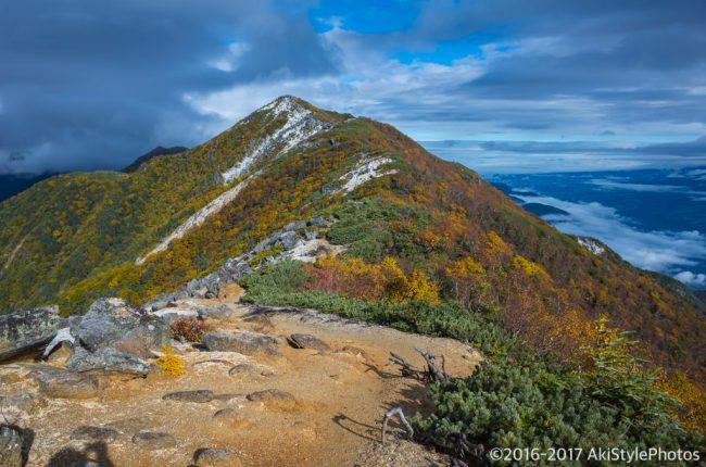 薬師岳から観音岳