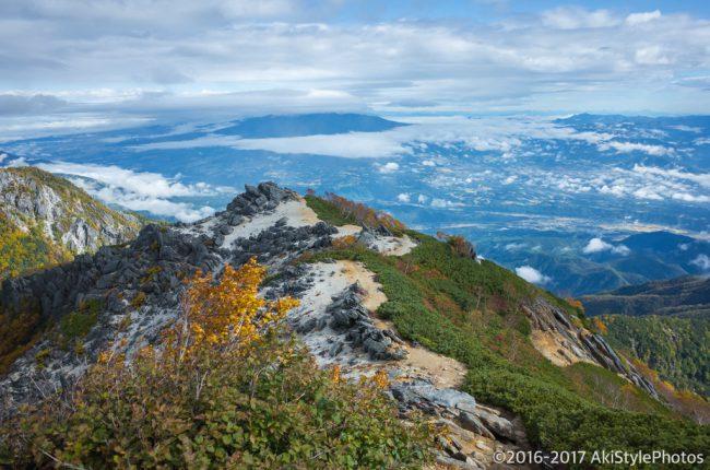 観音岳からの景色