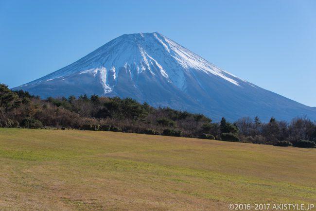 朝霧アリーナからの富士山