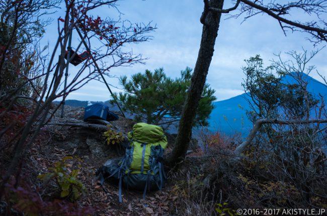 精進峠から見る富士山