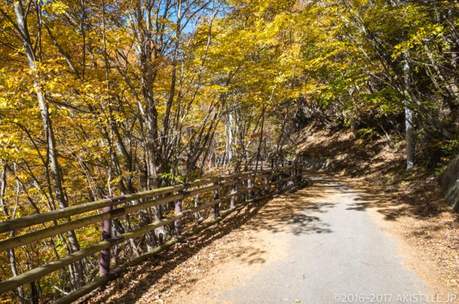 西沢渓谷ハイキングコース