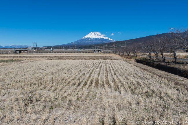 富士市で富士山と新幹線