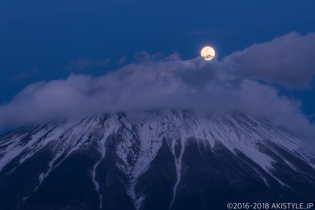 田貫湖からのパール富士