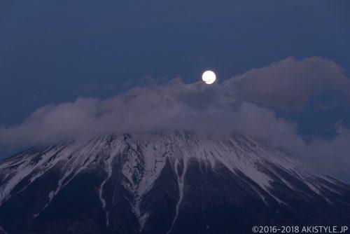 薄明の田貫湖でパール富士を狙った結果と、今回のレタッチ方法