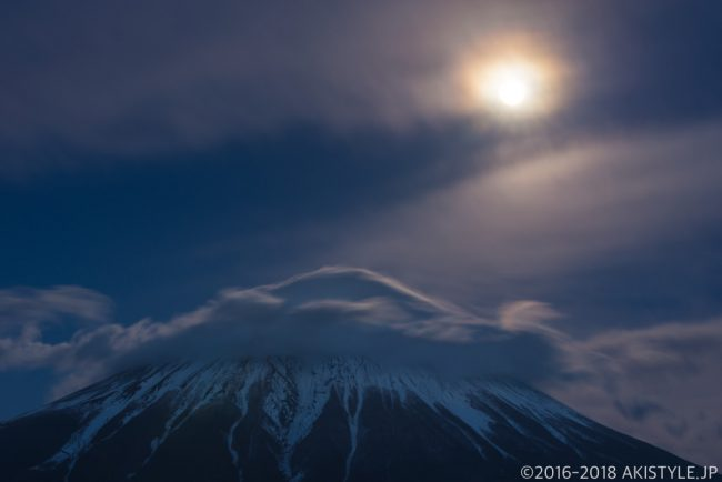 笠雲パール富士