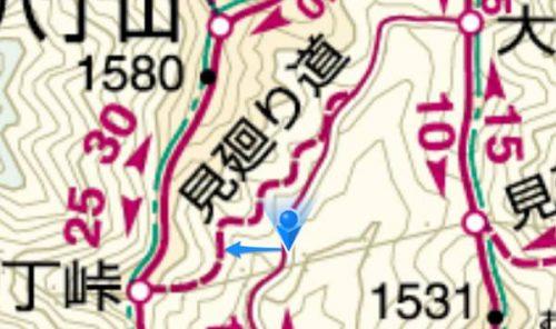 ヤマレコMAPの魅力!登山地図の発行されていない山を登るのに便利だった
