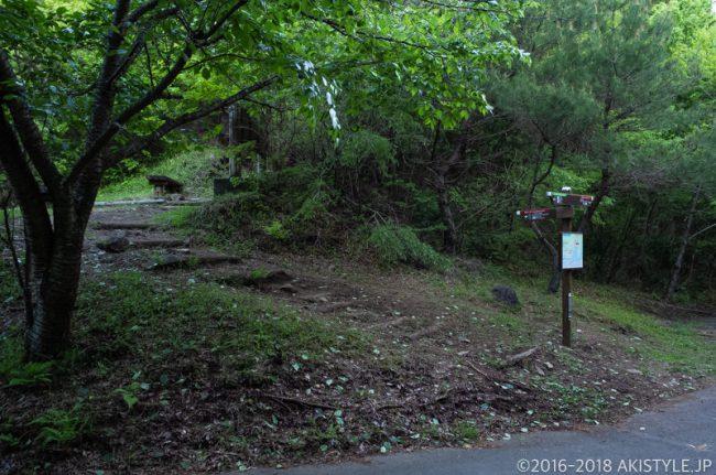 田貫湖、長者ヶ岳の登山口