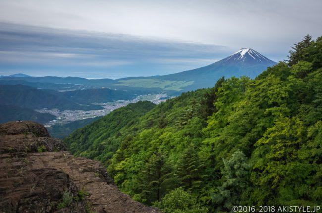 三ツ峠山からの富士山