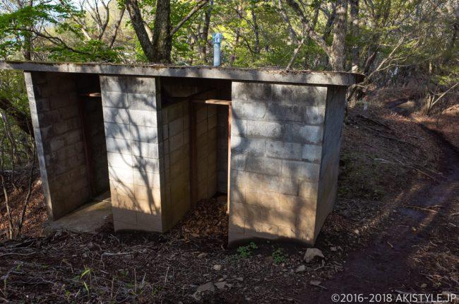 御坂茶屋のトイレ