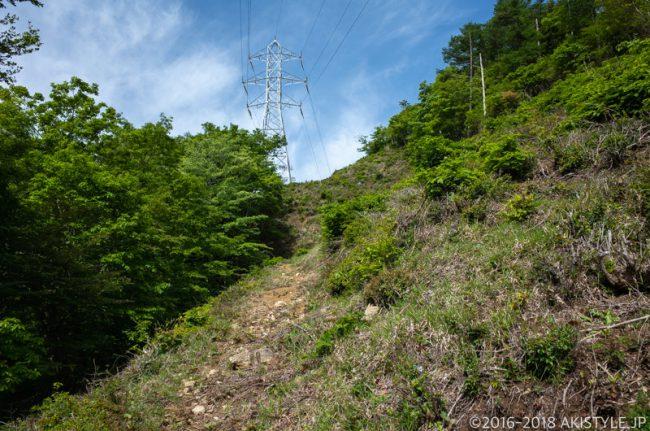 八丁峠の鉄塔