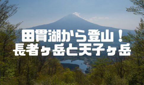 長者ヶ岳(1,335m)登山情報と富士山撮影
