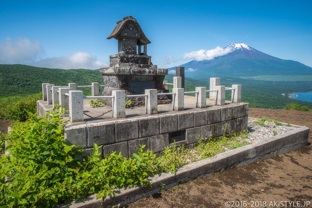 鉄砲木ノ頭から見る富士山
