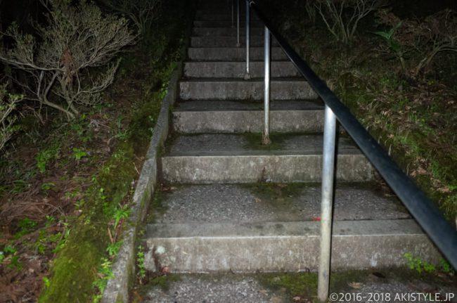 石割神社までの登山道