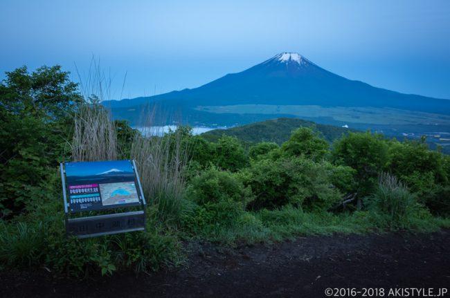 石割山から見る富士山