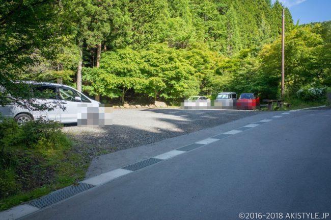 石割神社駐車場