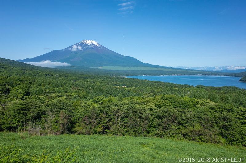 山中湖パノラマ台からの富士山