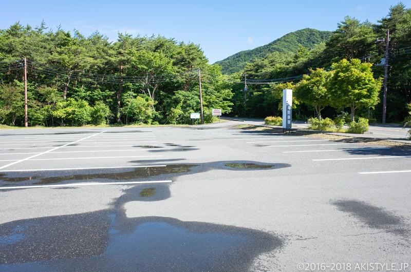 県営本栖湖駐車場