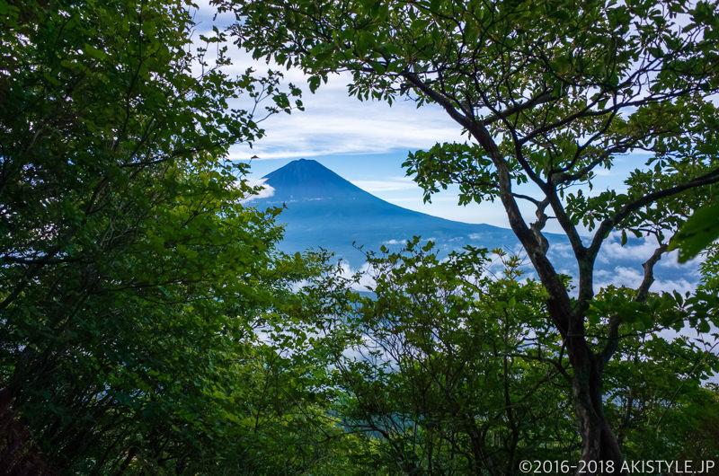 鬼ヶ岳の登山道
