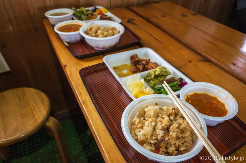 赤岳天望荘の食事