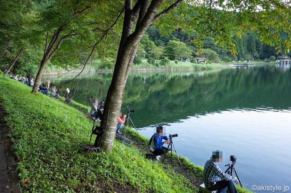 田貫湖ダイヤモンド富士のカメラマン