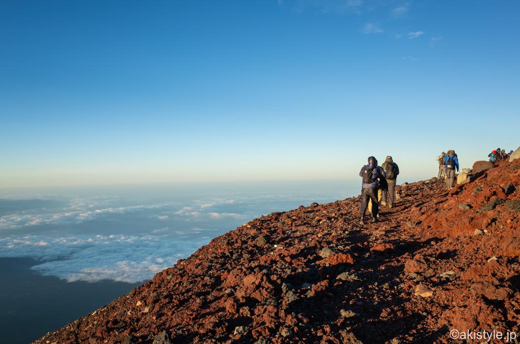 富士山のお鉢巡り