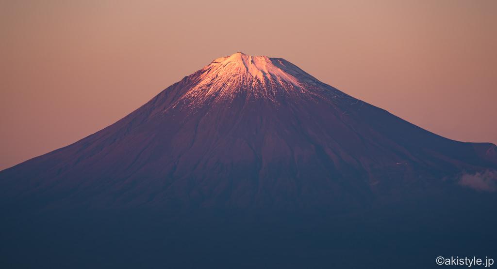 日本平富嶽台から見る富士山