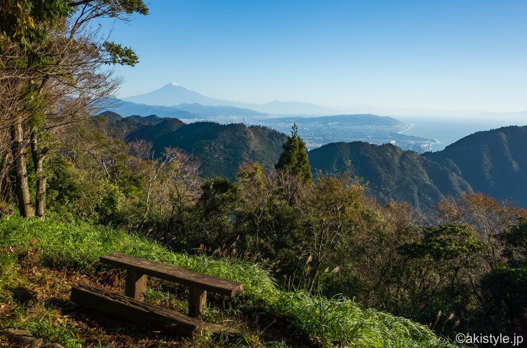 高草山から見る富士山