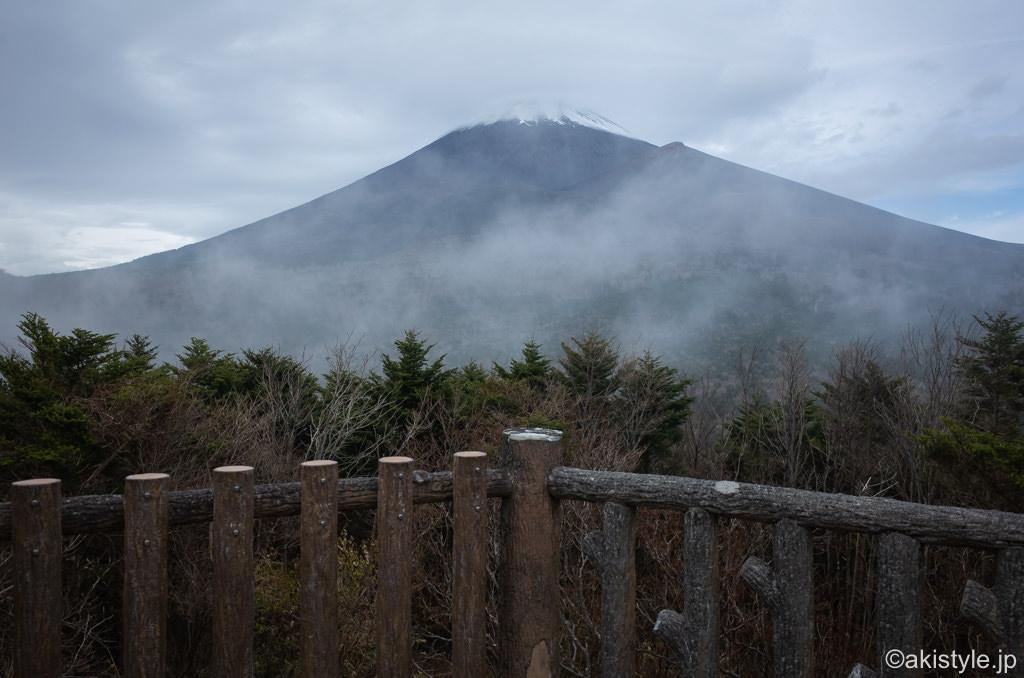 腰切塚展望台から見る富士山
