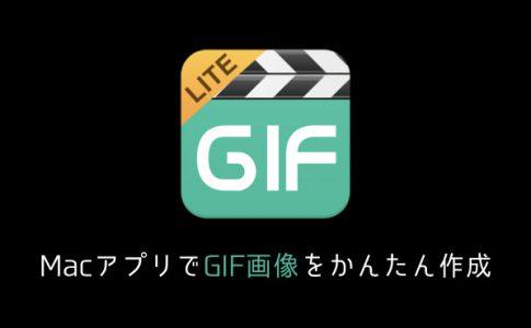 picgif-liteでGIF画像の作成