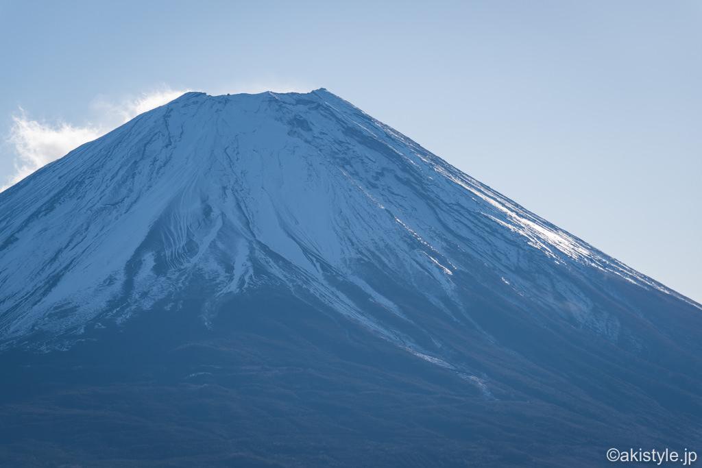 竜ヶ岳山頂から見える富士山