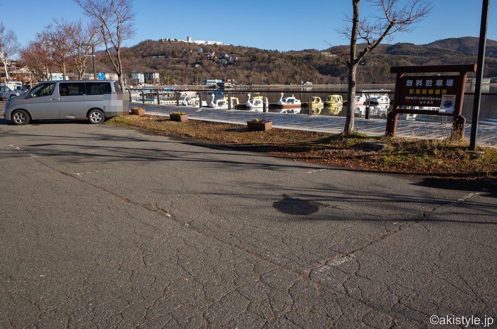 山中湖無料駐車場