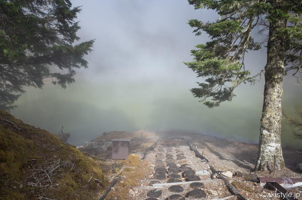 七面山の一の池
