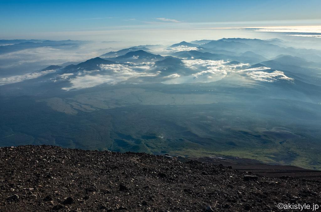 富士登山とお鉢巡り