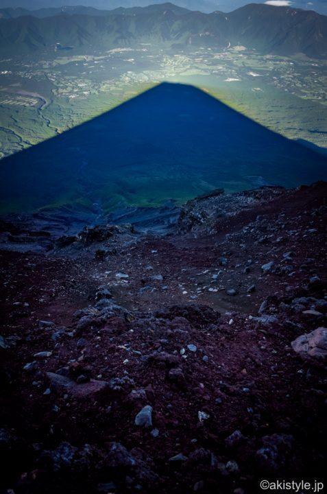 富士登山と影富士
